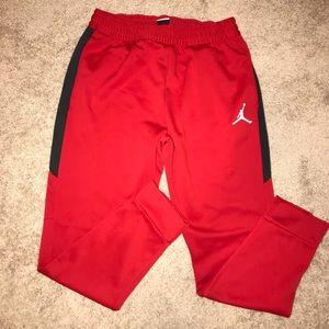 NWOT Red Jordan Athletic Pants